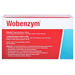 WOBENZYM magensaftresistente Tabletten 360 Stück - Rückseite