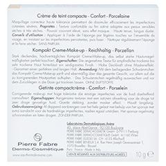 Avène Couvrance Kompakt Creme-Make-up reichhaltig porzellan 10 Gramm - Rückseite