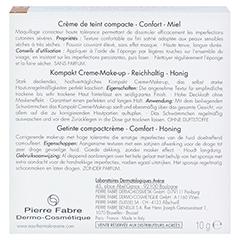 AVENE Couvrance Kompakt Cr.-Make-up reich.honig 4 10 Gramm - Rückseite