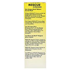 BACH ORIGINAL Rescue Creme 30 Milliliter - Rückseite