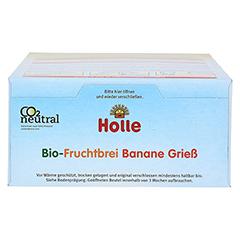HOLLE Bio Fruchtbrei Banane Grieß 250 Gramm - Oberseite