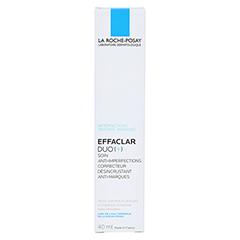 ROCHE POSAY Effaclar Duo+ Creme + gratis Effaclar Reinigungsgel 50 ml 40 Milliliter - Rückseite
