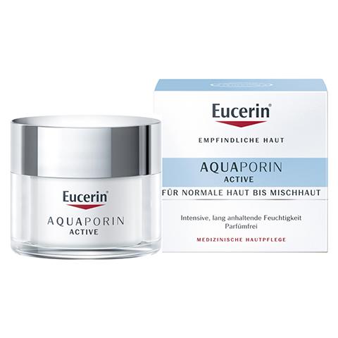 EUCERIN AQUAporin Active Creme norm.bis Mischhaut 50 Milliliter