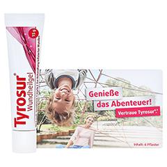 Tyrosur Wundheilgel + gratis Tyrosur Pflastermäppchen 15 Gramm