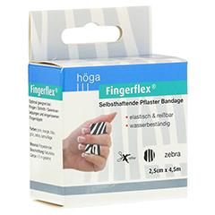 FINGERFLEX 2,5 cmx4,5 m Zebra 1 Stück