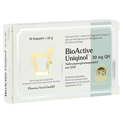 BIOACTIVE Uniqinol 30 mg QH Pharma Nord Kapseln 30 Stück