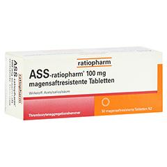 ASS-ratiopharm 100mg 50 Stück N2