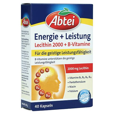 ABTEI Lecithin 2.000 Plus B-Vitamine Kapseln 40 Stück