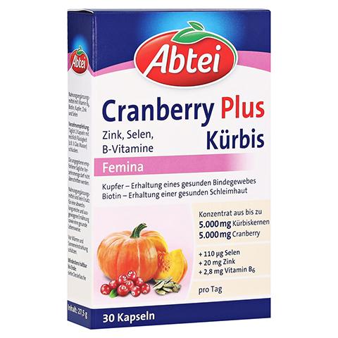 Abtei Cranberry Plus Kürbis Femina 30 Stück