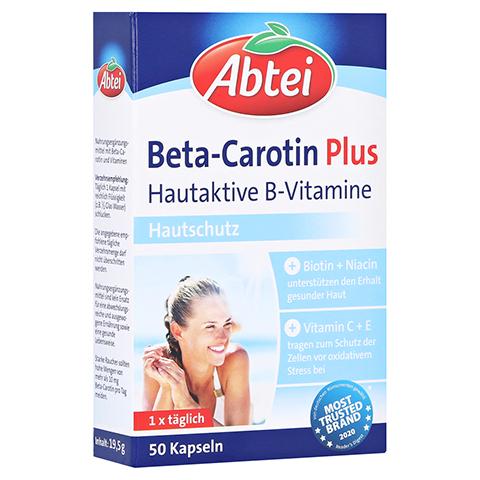 ABTEI Beta-Carotin Plus (Hautaktive B-Vitamine) 50 Stück
