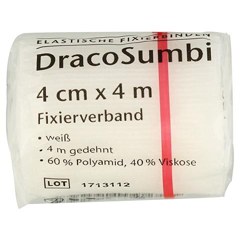 DRACOSUMBI Fixierbinde 4 cmx4 m weiß 1 Stück