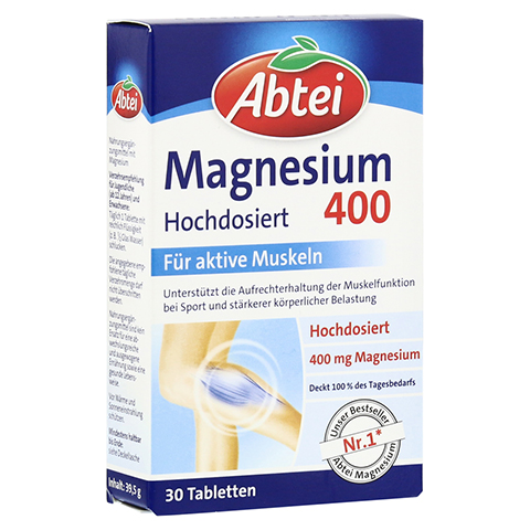 ABTEI Magnesium 400 Tabletten 30 Stück