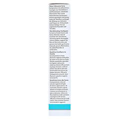 DR.HAUSCHKA MED Forte Zahncreme Minze 75 Milliliter - Linke Seite