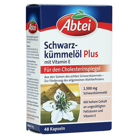 ABTEI Schwarzkümmelöl (Plus) 48 Stück
