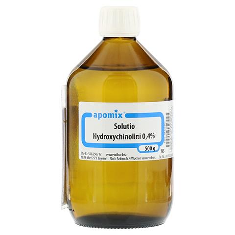 SOLUTIO HYDROXYCHIN. 0,4% 500 Milliliter N3
