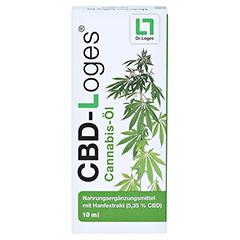 CBD-LOGES Cannabis-Öl 10 Milliliter - Vorderseite
