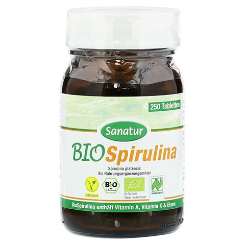 SPIRULINA BIO Tabletten 250 Stück