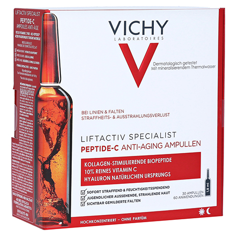 VICHY LIFTACTIV Specialist Peptide-C Anti-Age Amp. 30x1.8 Milliliter