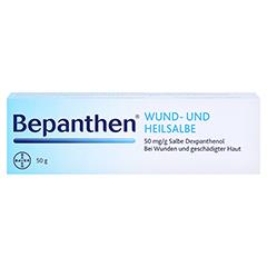 Bepanthen Wund- und Heilsalbe 50 Gramm N2 - Vorderseite