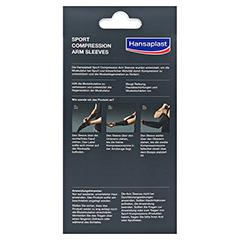 HANSAPLAST Sport Compression Arm-Sleeves Gr.L 2 Stück - Rückseite