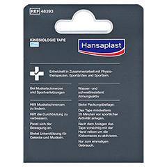 HANSAPLAST Sport Kinesiologie Tape 5 cmx5 m blau 1 Stück - Rückseite