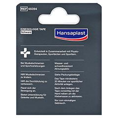 HANSAPLAST Sport Kinesiologie Tape 5 cmx5 m schw. 1 Stück - Rückseite