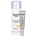 Eucerin Hyaluron-Filler CC Cream hell + gratis Eucerin HyaluronPlus Winterfreude 50 Milliliter
