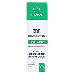 VITADOL Complex 10% CBD Mundöl 10 Milliliter - Vorderseite