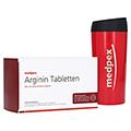 medpex ARGININ Tabletten + gratis medpex Kaffeebecher 240 Stück