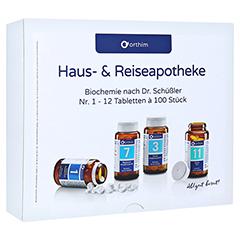 Biochemie Orthim Reiseapotheke 1-12 12x100 Tabl. 1 Packung