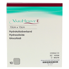 VARIHESIVE E 10x10 cm HKV hydroaktiv 965246 10 Stück - Vorderseite