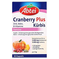 ABTEI Cranberry + Kürbis Plus (Femina) 30 Stück - Vorderseite