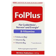 Folplus Filmtabletten 90 Stück - Vorderseite