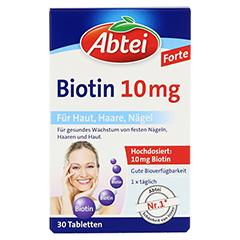 ABTEI Biotin 10mg 30 Stück - Vorderseite