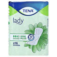 TENA LADY mini plus Einlagen 16 Stück - Vorderseite