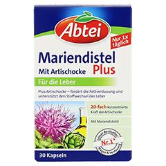 Abtei Mariendistelöl Kapseln 30 Stück - Vorderseite