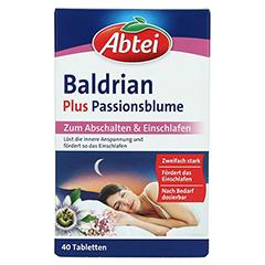 ABTEI Baldrian + Passionsblume 40 Stück - Vorderseite