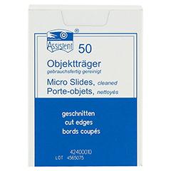 OBJEKTTRÄGER 26x76 mm 50 Stück - Vorderseite