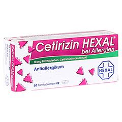 Cetirizin HEXAL bei Allergien 50 Stück N2