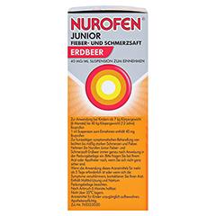 Nurofen Junior Fieber- und Schmerzsaft Erdbeer 40mg/ml 150 Milliliter N2 - Linke Seite