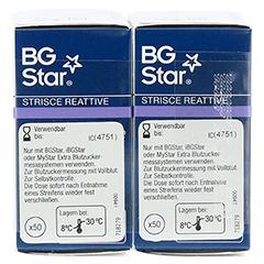 BGSTAR Teststreifen 100 Stück - Linke Seite