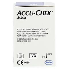 ACCU CHEK Aviva Teststreifen Plasma II 1x50 Stück - Rechte Seite