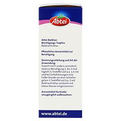 ABTEI Baldrian (Beruhigungstropfen) 100 Milliliter - Rechte Seite