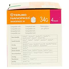 TERUMO NANOPASS 34 Pen Kanüle 34 G 0,18x4 mm 100 Stück - Rechte Seite