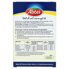 ABTEI Lecithin 2.000 Plus B-Vitamine Kapseln 40 Stück - Rückseite