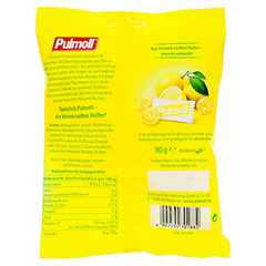 PULMOLL Hustenbonbons Zitrone+Vit.C zuckerfrei Bt. 90 Gramm - Rückseite