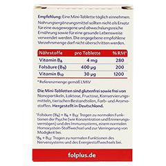 Folplus Filmtabletten 90 Stück - Rückseite