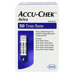 ACCU CHEK Aviva Teststreifen Plasma II 1x50 Stück - Rückseite