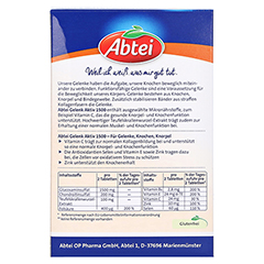 ABTEI Gelenk Aktiv Plus 30 Stück - Rückseite