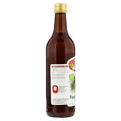 VITAGARTEN Bio Papaya-Apfelsaft Direktsaft 750 Milliliter - Rückseite